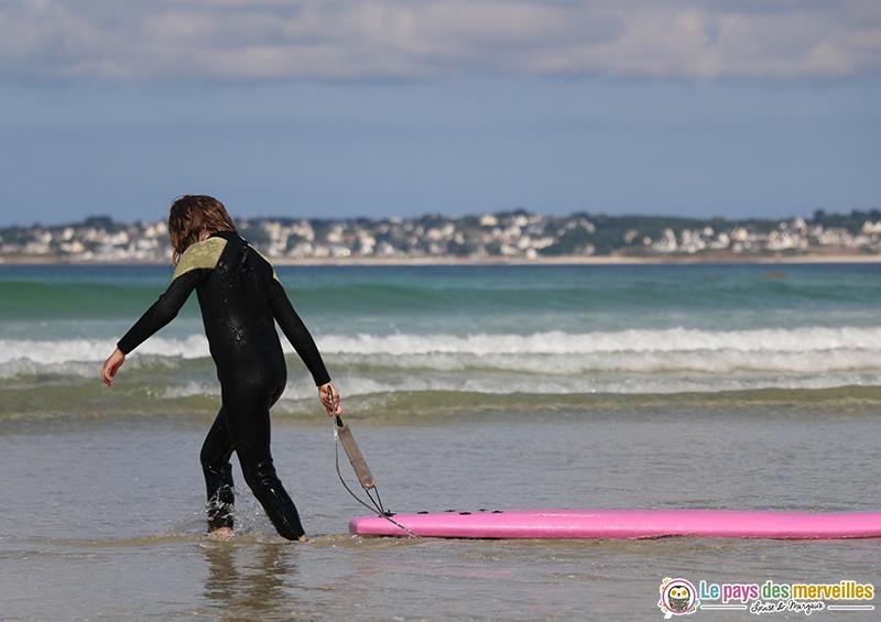 Surf enfant finistere Soul surfing Skol