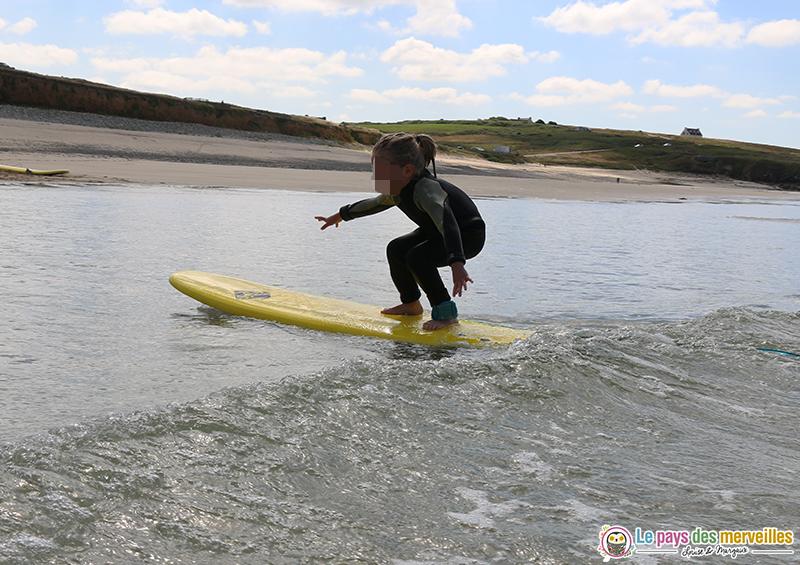 Surf enfant 5 ans Soul surfing Skol Audierne