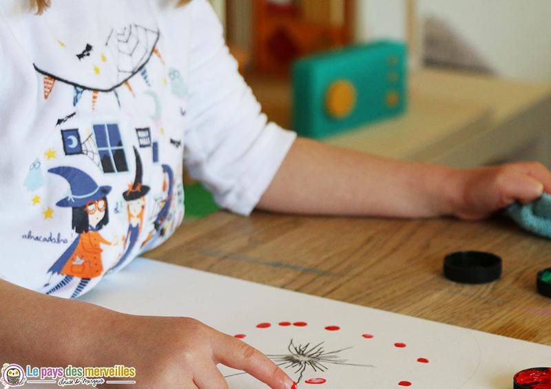 Utilisation de la Lunii pendant les activités créatives des enfants