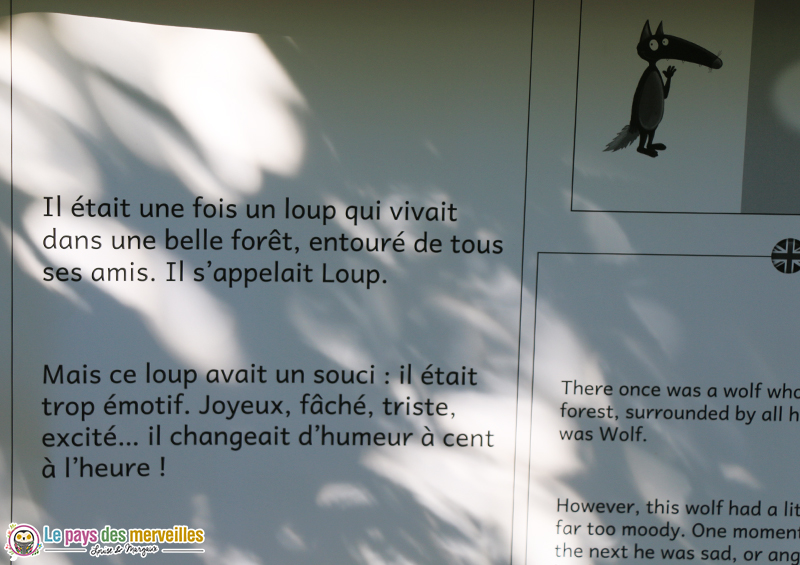 Texte du conte le loup qui apprivoisait ses émotions