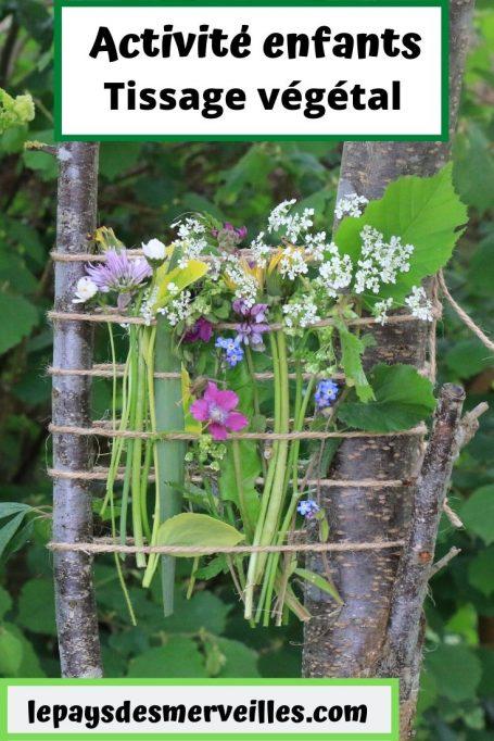 tissage végétal