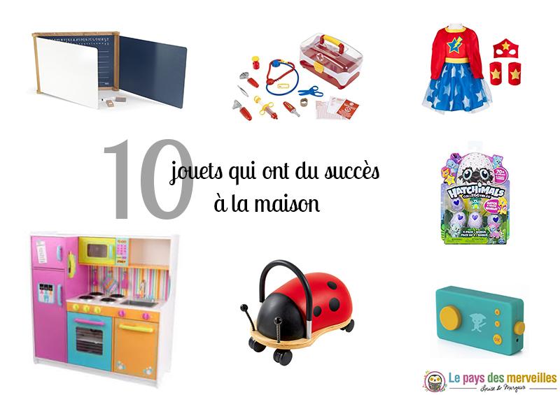 Top 10 des jouets qui ont du succès