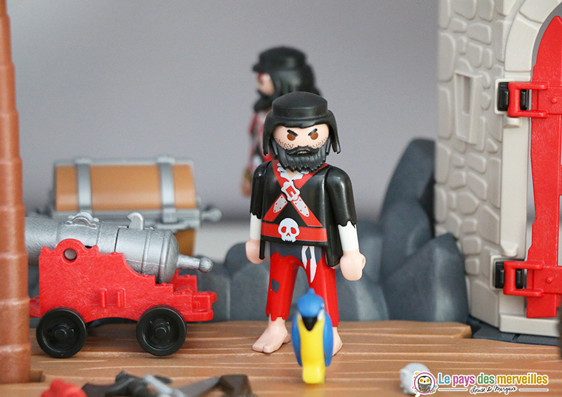 Personnage pirate playmobil