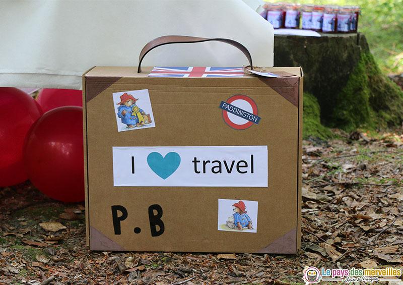 Valise de Paddington en carton