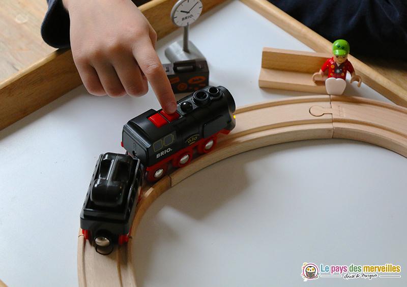 jouet pour enfant train à vapeur