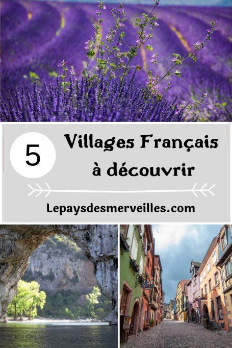 5 villages français à découvrir