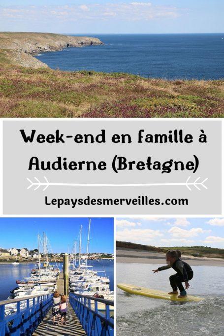 week-end en famille à Audierne en Bretagne